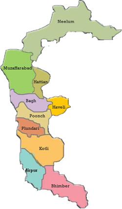 AJK Map